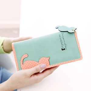Long Section Cat Wallet