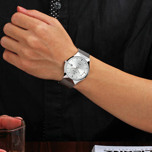 Ultra Thin Stainless Steel Mesh watch