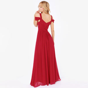 Sexy Side Slit V Neck Dress