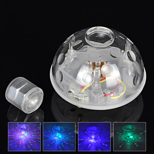 Waterproof Swim Floating Underwater LED Disco Light