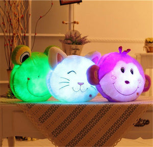 Led Light up Doll Cushion Pillow