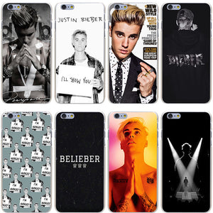 Justin Bieber Hard Case for iPhones