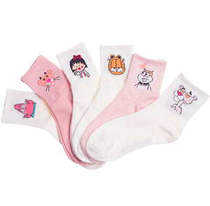 Ulzzang Tiger Cartoon Character Socks