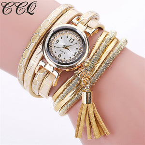 Women  Multilayer Bracelet Watch