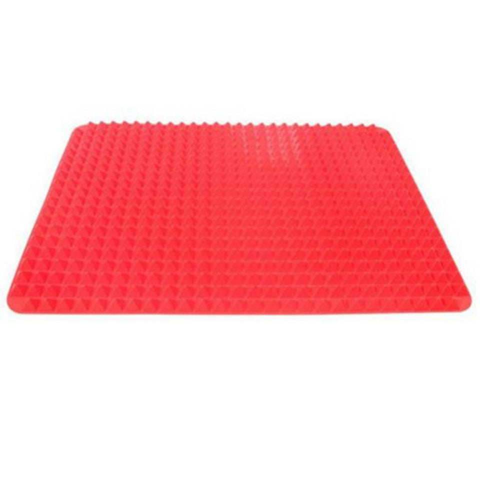 Red Pyramid Silicone Baking Mats