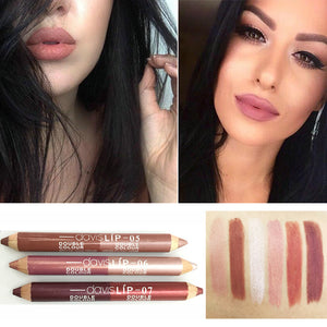 Matte Metallic Lipstick Pencil