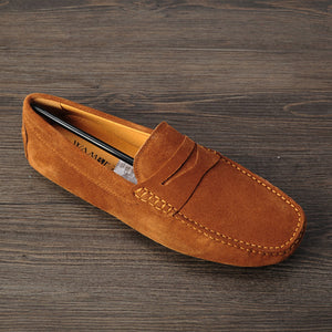 Leather Men Loafers
