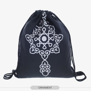 Black Skull Backpack