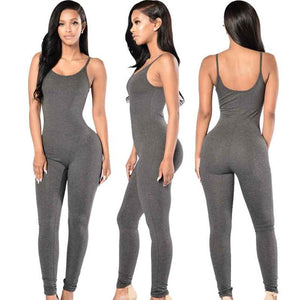 Sexy Strap Sleeveless Jumpsuit