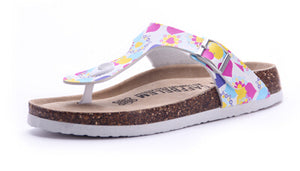 Summer Beach Cork slippers