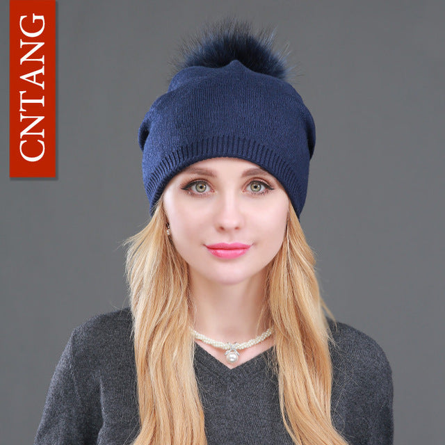 Knitted Wool Hats For Women