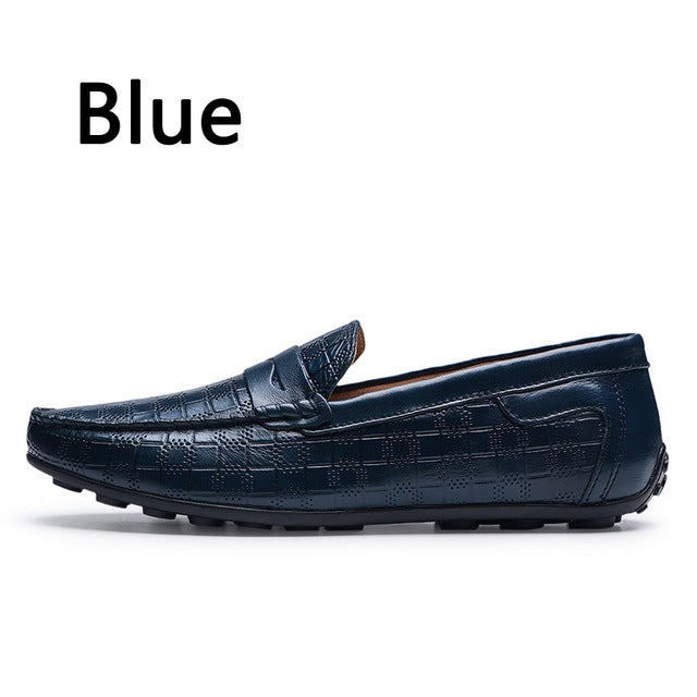Leather Loafers Casual Shoes