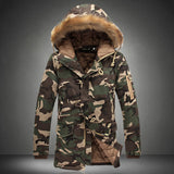 Military Fur Collar Jacket