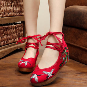 Embroidered Cloth shoes