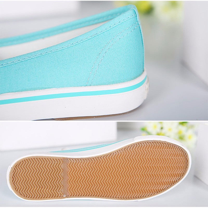 Breathable Canvas Flats Shoes