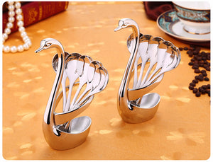 Swan Rack table Spoons