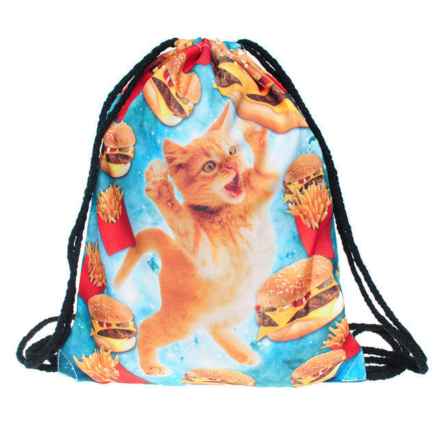 Space Cats mini Backpack (11 different designs)