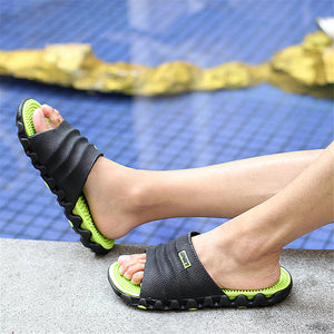 Soft Slides Plastic Indoor Slippers