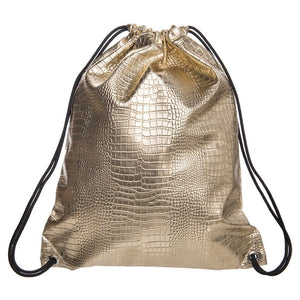 Stylish Leather Drawstring fashion Bag