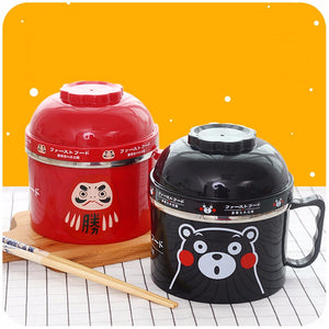 Cute Cartoon Stainless Steel Lunch Box