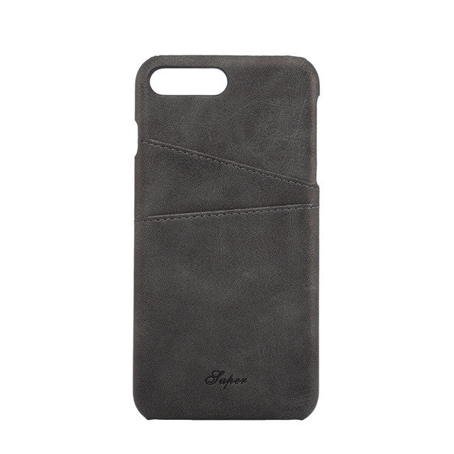 iPhone 7 & iPhone 7plus Leather Wallet Case
