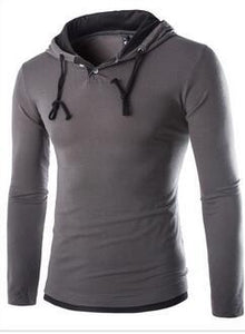 Men'S Hooded T Shirt
