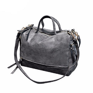 Leather Vintage Crossbody Women Bag (4 colors)