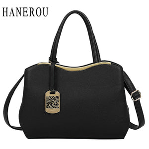High Quality Leather Tote Handbag