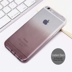 iPhone Colorful Gradient Transparent Case (5, 6 & 7)