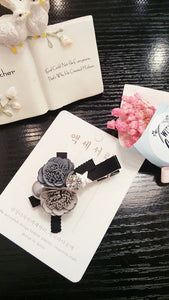 Cloth Flower Diamond Hair Accessories