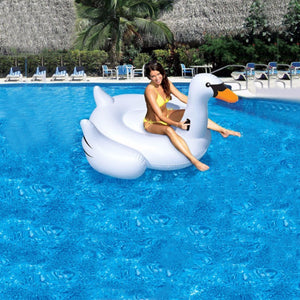 Giant Swan Inflatable Float