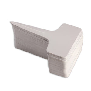50Pcs/lot 6x10cm Plastic Plant T-type Tags