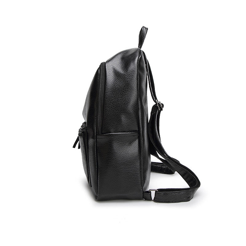 Soft Leather Travel Backpack
