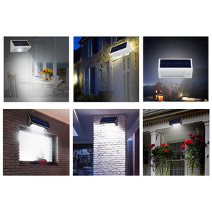 Outdoor 20 LED Solar Power Wall Lamp