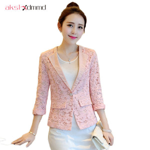 Lace Women Blazer