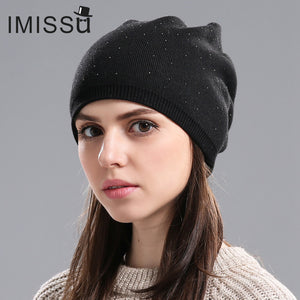 Winter Knitted Wool Beanie
