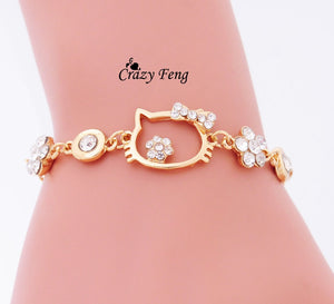 Hello Kitty Cat  Chain Bracelets