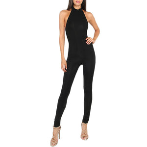 Slim Backless Sexy Jumpsuit