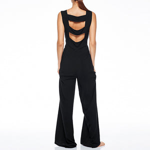 Sexy Backless Slim High Waist  Jumpsuit