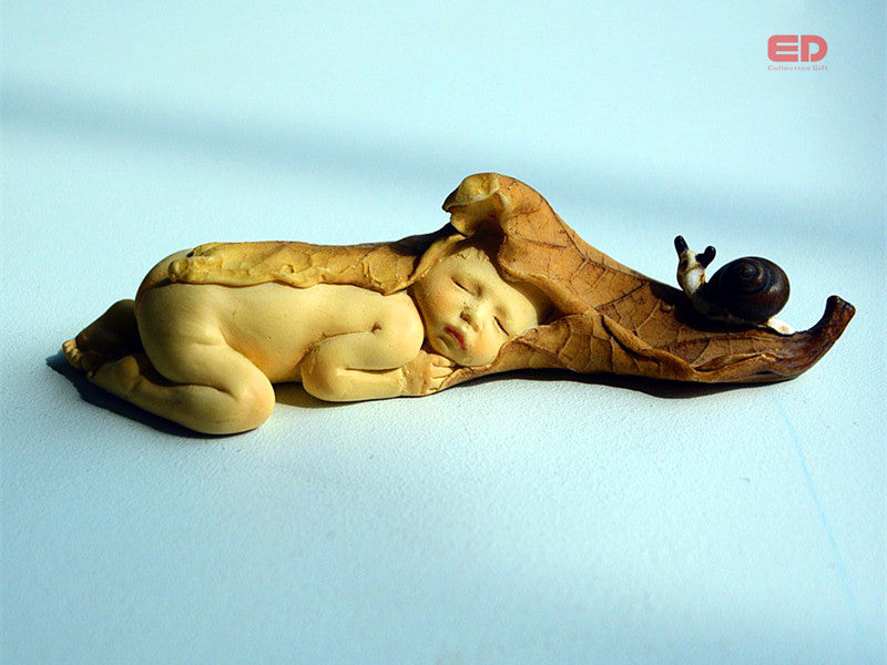 2pcs set miniature fairy angel figurines