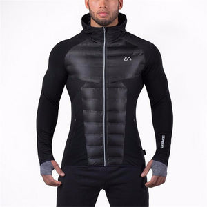 Thick material warmth Fitness jacket