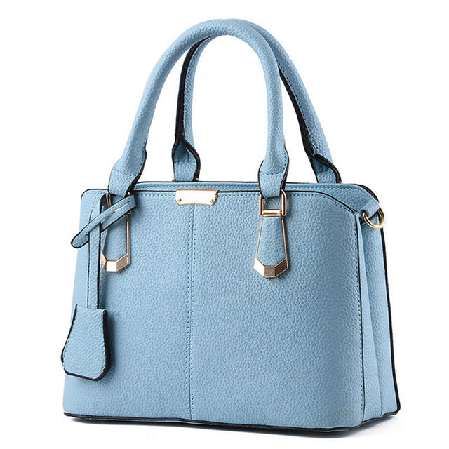 Leather Top-handle Women Handbag
