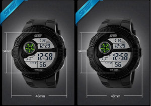 LED Digital Military Watch
