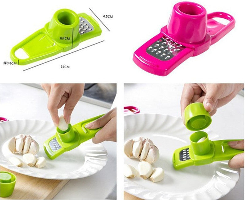 Garlic Press Cutter
