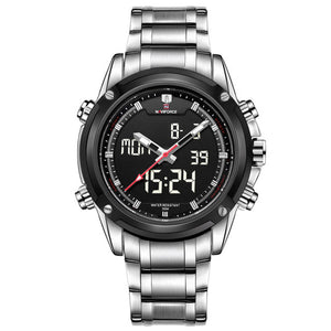 Analog Clock Military Sports Watch