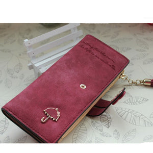 Leather ID card holders wallet