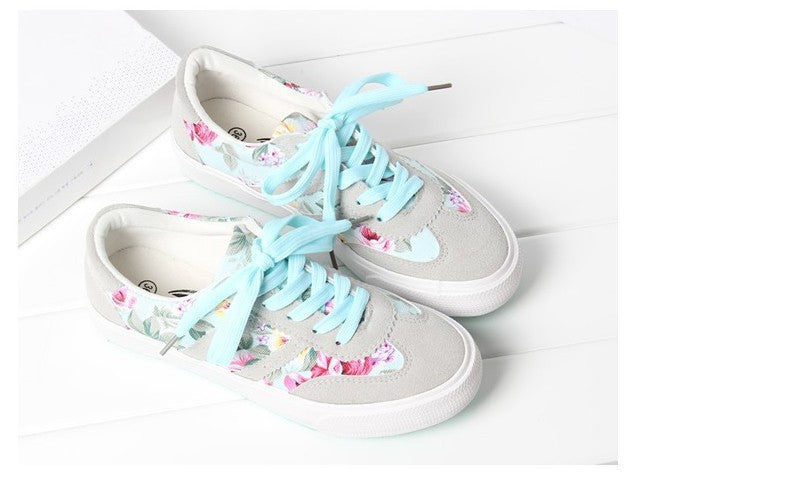 Printed fashion sneakers