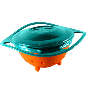 Spill-Proof Rotary Balance Bowl