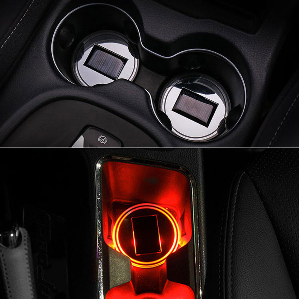 Anti-Slip LED Light Cup Holder