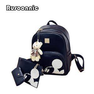 Mickey Composite leather Backpack